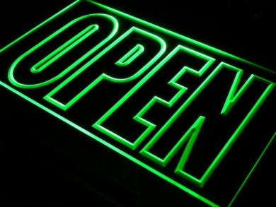 Wij zijn weer open!